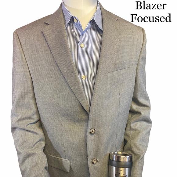 Lauren RL Grey 2 Button Blazer 40L